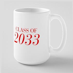 CLASS OF 2033-Bau red 501 Mugs