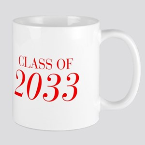 CLASS OF 2033-Bau red 501 Mugs