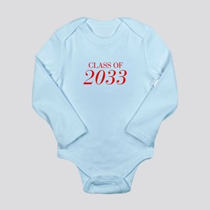 CLASS OF 2033-Bau red 501 Body Suit