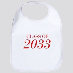 CLASS OF 2033-Bau red 501 Bib