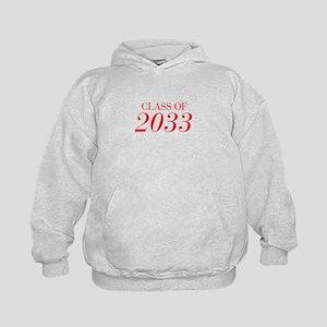 CLASS OF 2033-Bau red 501 Hoodie