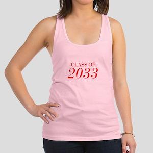 CLASS OF 2033-Bau red 501 Racerback Tank Top