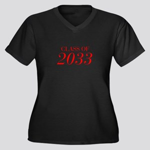 CLASS OF 2033-Bau red 501 Plus Size T-Shirt