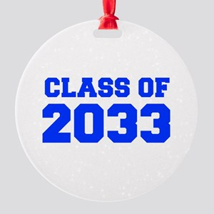 CLASS OF 2033-Fre blue 300 Ornament