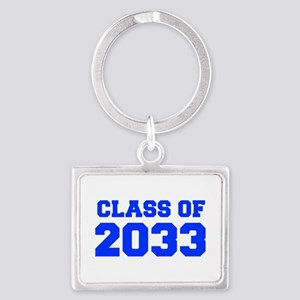 CLASS OF 2033-Fre blue 300 Keychains