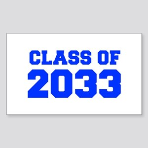 CLASS OF 2033-Fre blue 300 Sticker