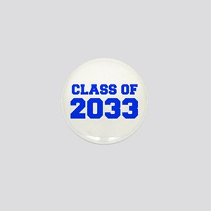 CLASS OF 2033-Fre blue 300 Mini Button