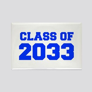 CLASS OF 2033-Fre blue 300 Magnets