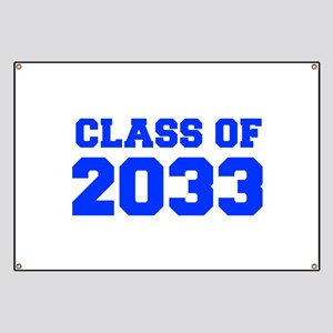 CLASS OF 2033-Fre blue 300 Banner
