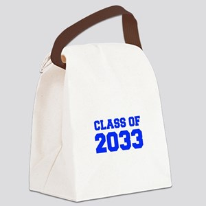 CLASS OF 2033-Fre blue 300 Canvas Lunch Bag