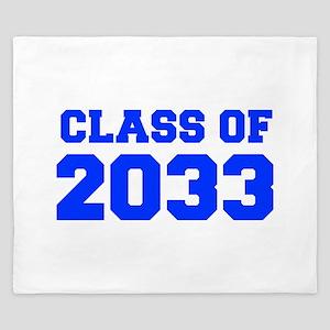 CLASS OF 2033-Fre blue 300 King Duvet