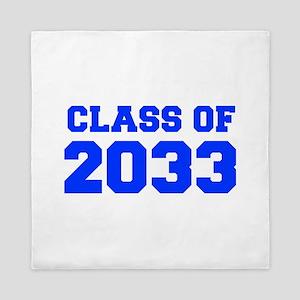 CLASS OF 2033-Fre blue 300 Queen Duvet