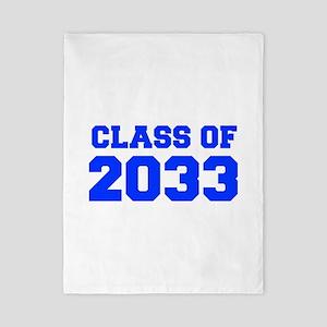 CLASS OF 2033-Fre blue 300 Twin Duvet