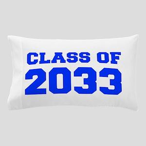 CLASS OF 2033-Fre blue 300 Pillow Case