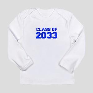CLASS OF 2033-Fre blue 300 Long Sleeve T-Shirt