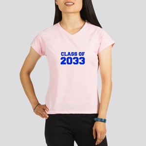 CLASS OF 2033-Fre blue 300 Performance Dry T-Shirt