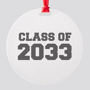 CLASS OF 2033-Fre gray 300 Ornament