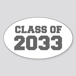 CLASS OF 2033-Fre gray 300 Sticker