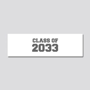 CLASS OF 2033-Fre gray 300 Car Magnet 10 x 3