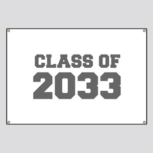 CLASS OF 2033-Fre gray 300 Banner