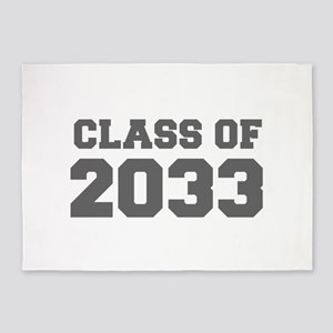 CLASS OF 2033-Fre gray 300 5'x7'Area Rug