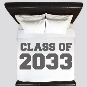CLASS OF 2033-Fre gray 300 King Duvet