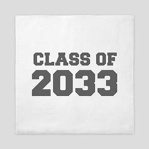 CLASS OF 2033-Fre gray 300 Queen Duvet