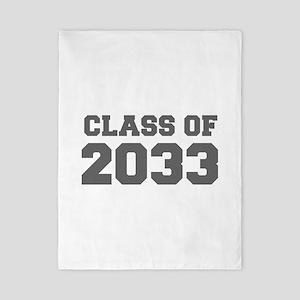 CLASS OF 2033-Fre gray 300 Twin Duvet