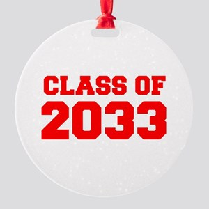 CLASS OF 2033-Fre red 300 Ornament