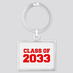 CLASS OF 2033-Fre red 300 Keychains