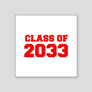 CLASS OF 2033-Fre red 300 Sticker