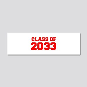 CLASS OF 2033-Fre red 300 Car Magnet 10 x 3