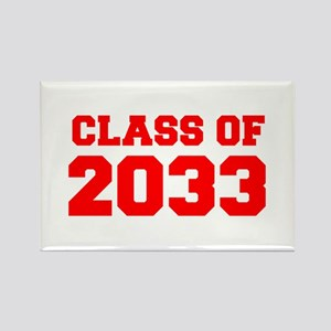 CLASS OF 2033-Fre red 300 Magnets