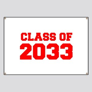 CLASS OF 2033-Fre red 300 Banner