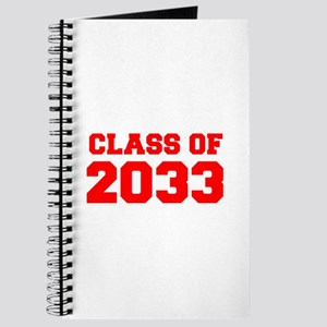 CLASS OF 2033-Fre red 300 Journal