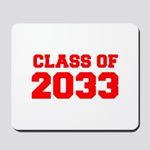 CLASS OF 2033-Fre red 300 Mousepad