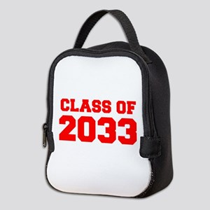 CLASS OF 2033-Fre red 300 Neoprene Lunch Bag