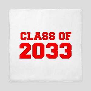 CLASS OF 2033-Fre red 300 Queen Duvet