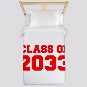 CLASS OF 2033-Fre red 300 Twin Duvet