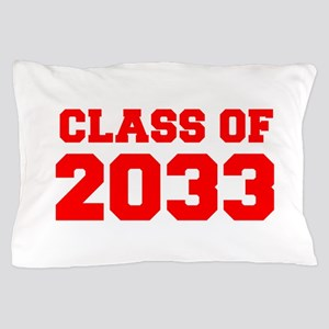 CLASS OF 2033-Fre red 300 Pillow Case