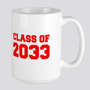 CLASS OF 2033-Fre red 300 Mugs