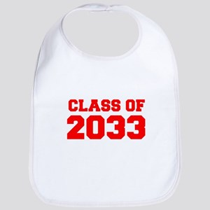 CLASS OF 2033-Fre red 300 Bib