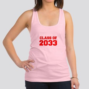 CLASS OF 2033-Fre red 300 Racerback Tank Top
