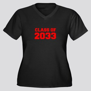 CLASS OF 2033-Fre red 300 Plus Size T-Shirt