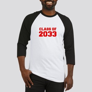 CLASS OF 2033-Fre red 300 Baseball Jersey