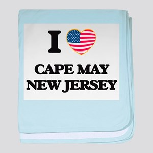 I love Cape May New Jersey baby blanket