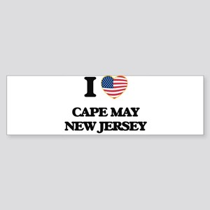 I love Cape May New Jersey Bumper Sticker