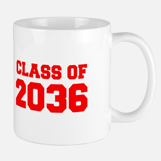 CLASS OF 2036-Fre red 300 Mugs