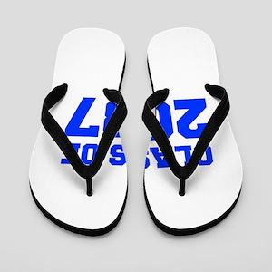 CLASS OF 2037-Fre blue 300 Flip Flops