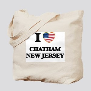 I love Chatham New Jersey Tote Bag